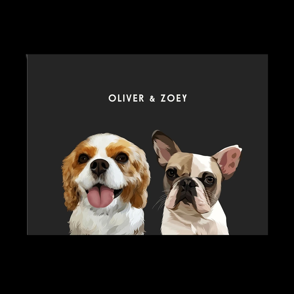 Find the best Custom pet portrait of high quality